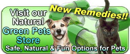 greennatural pet remedies